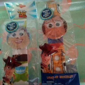 Toy Story 4 Light Up Bracelets Bundle